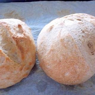 全粒粉とライ麦パン