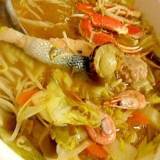 北海魚介鍋