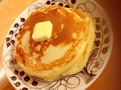 栄養たっぷり 豆乳 ヨーグルト入りホットケーキ レシピ 作り方 By Tonokohimeko 楽天レシピ