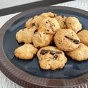ホットケーキミックスで☆チョコ入りドロップクッキー