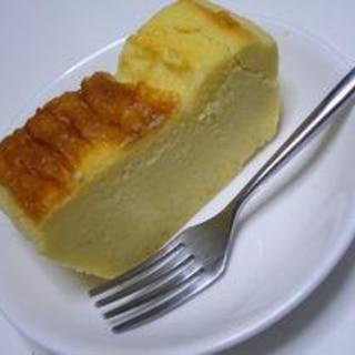 スライスチーズでさつま芋のケーキ♪