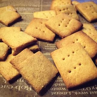 豆乳とスイーツ粉だけ♪トースターで簡単クッキー