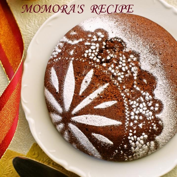 卵&バター無し♡HMと炊飯器で簡単濃厚チョコケーキ