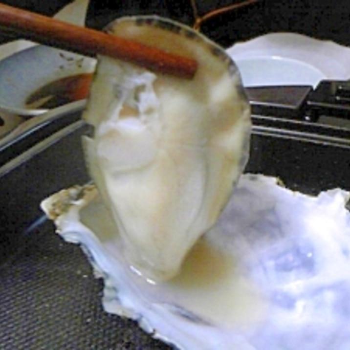 ホットプレートで「あつあつ♪ 焼き牡蠣」