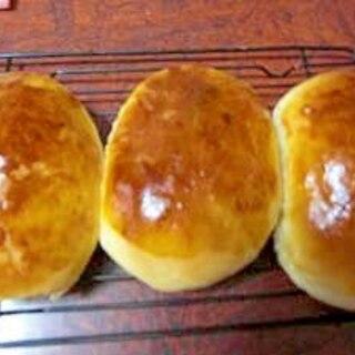 基本のクリームパン