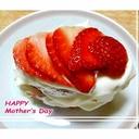 母の日に感謝を込めて☆苺のショートケーキ