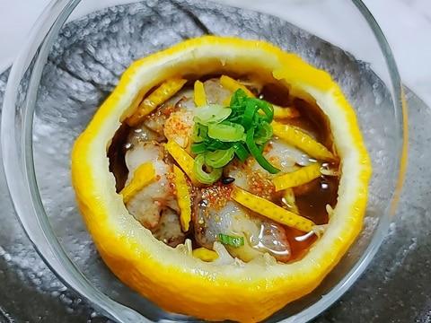 柚子なまこ酢