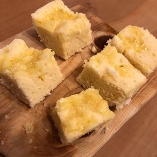 レンジで簡単☆チーズ蒸しパン