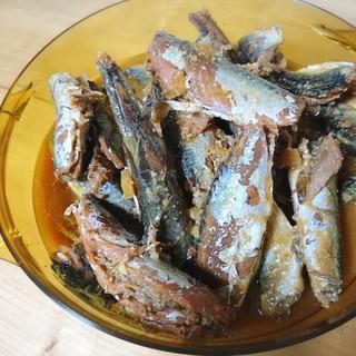 小鯖の味噌煮(圧力鍋で骨まで柔らか煮)