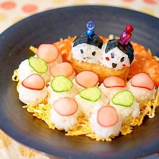 子供もたべれる!ひな祭り手まり寿司