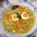具沢山卵スープ