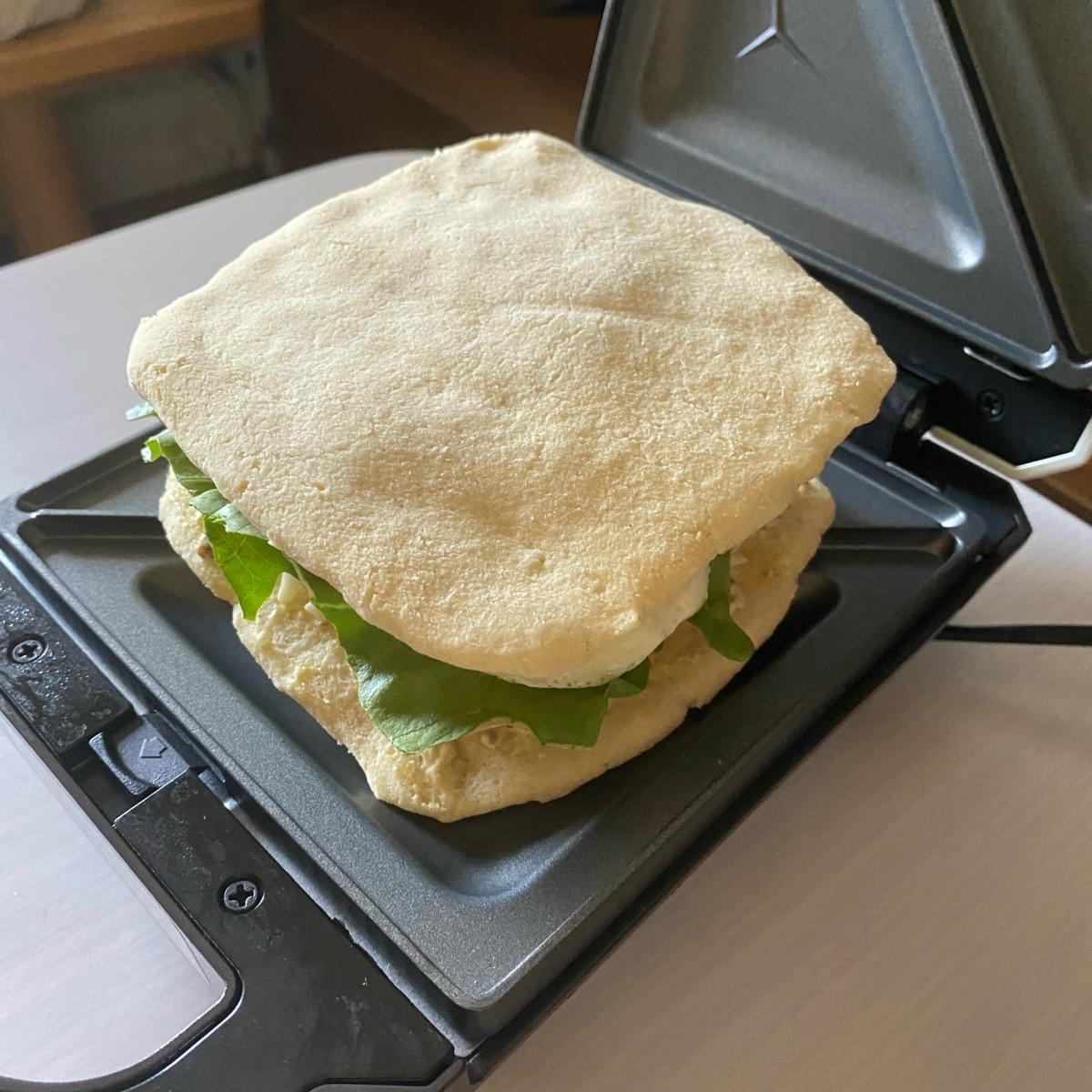 サンドイッチ パン お 蒸し から 米粉蒸しパンのサンドイッチ(グルテンフリー)
