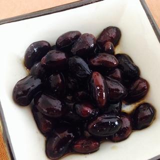 【砂糖不使用】黒豆の醤油煮