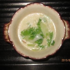 白菜白味噌チャウダー