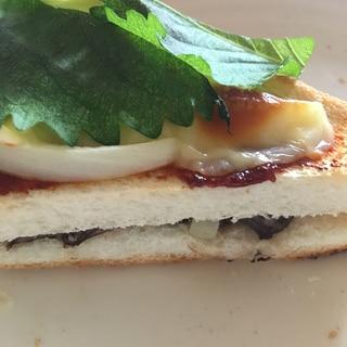 トースター ホットサンド風 ピリ辛 ツナ 夏 シソ