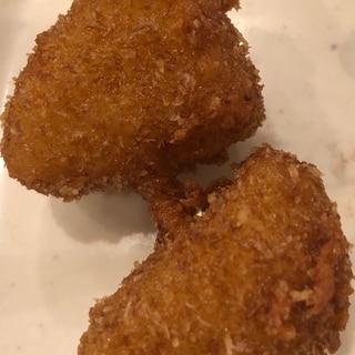 里芋の串カツ