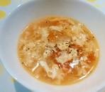 夏の朝に!トマトの卵スープ☆