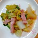 白菜とベーコン炒め☆