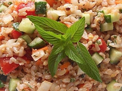 玄米ライスサラダ