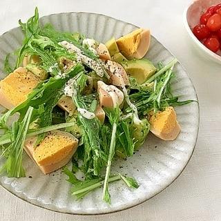 アボカドとゆで卵のサラダ