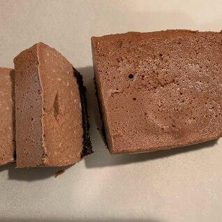 レアなチョコチーズケーキ