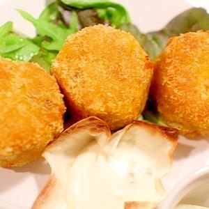 パンプキン豆腐ライスコロッケ