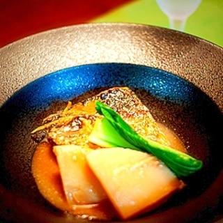 焼きサバの味噌煮