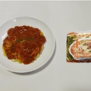 味〜噌ソーススパゲティ風