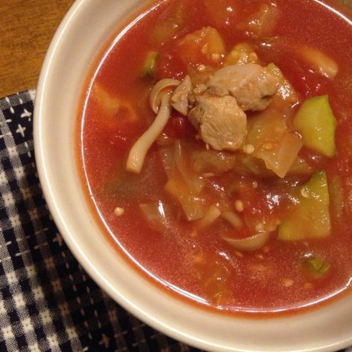 スープ トマト チキン トマトスープのレシピ・作り方 【簡単人気ランキング】|楽天レシピ