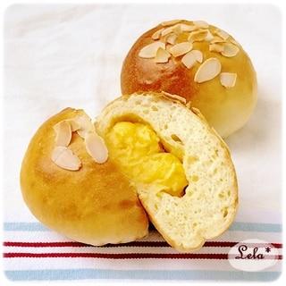 米粉のカスタードクリームパン