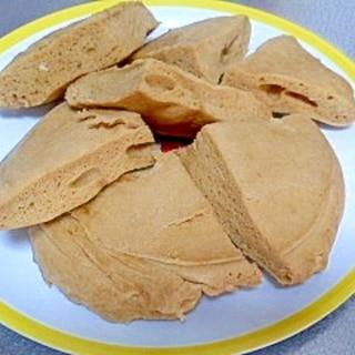 ホットケーキミックスでコーヒー味の蒸しパン
