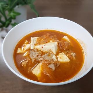 激すっぱくなったキムチ救済!韓国風スープ