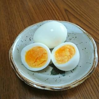 ゆで卵(黄身固めの白身柔らかい) 大人 子供 1歳