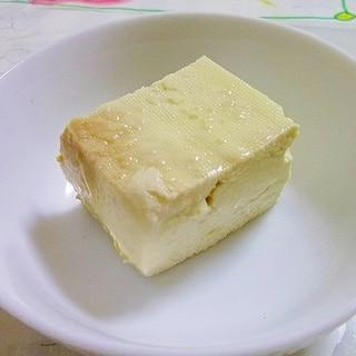 木綿豆腐の醤油麹漬け