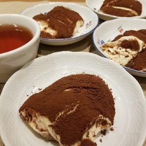 簡単デザート♪ティラミス