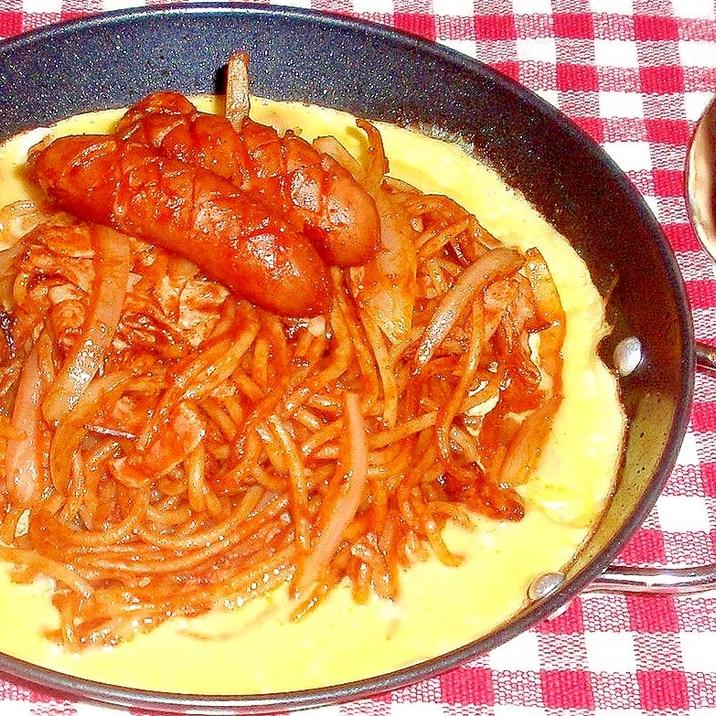 昔懐かしい昭和の味!名古屋風イタリアンスパゲティ♪