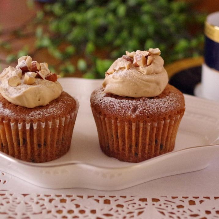 HMで作る簡単☆カフェモカ味の珈琲カップケーキ