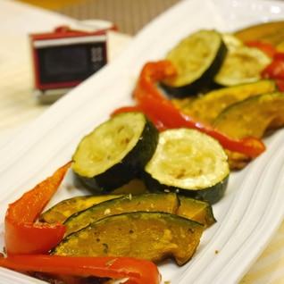 オーブンでほったらかし★夏野菜のグリル