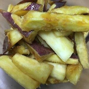 フライパンで簡単!大学芋風サマイモ炒め♪