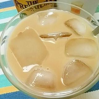 ノンアルコールカクテル☆カルーアミルクビア♪