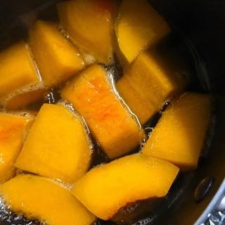 冷凍バターナッツかぼちゃの煮物