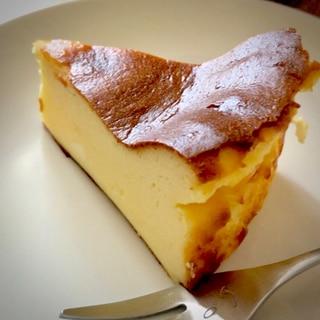 すごく簡単!バスクチーズケーキ