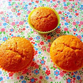 ☆サラダ油で簡単♪かぼちゃカップケーキ☆