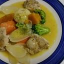ゴロゴロ野菜のクリームシチュー