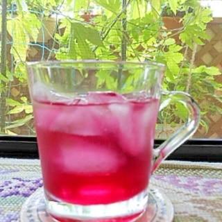 クエン酸入りの赤紫蘇ジュースで夏バテ予防しましょ♪
