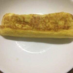 スキムミルク入りの卵焼き
