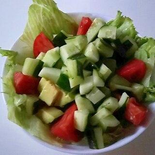 野菜モリモリサラダ