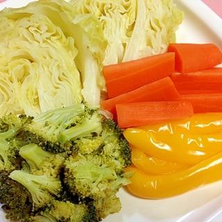 圧力鍋でたっぷり☆蒸し野菜