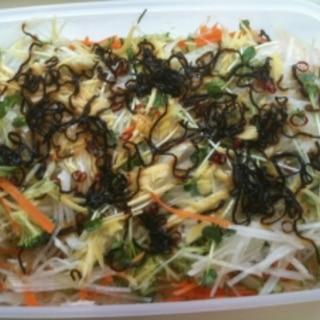 毎日食べれる酵素たっぷり生野菜サラダ