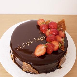 【母の日に♩意外と簡単!】チョコレートケーキ